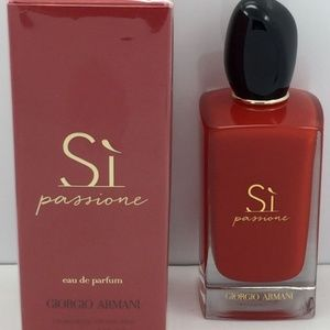 Brand New Armani Si Passionate 3.4oz Never Opened